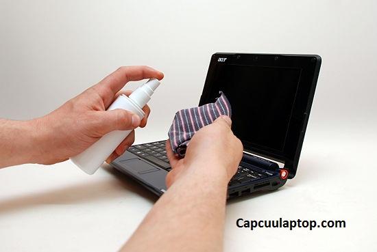 cách vệ sinh laptop
