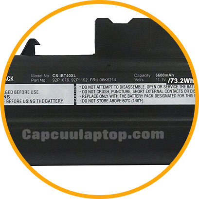 Pin Battery Ibm T40 T41 T42 T43 R50 R51 R52 B18t40